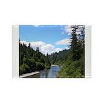 Scenic Eel River Rectangle Magnet (100 pack)
