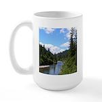 Scenic Eel River Large Mug