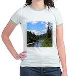 Scenic Eel River Jr. Ringer T-Shirt