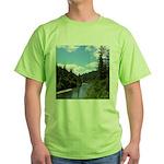 Scenic Eel River Green T-Shirt
