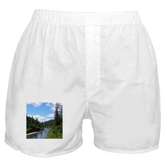 Scenic Eel River Boxer Shorts