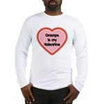 Gramps is My Valentine Long Sleeve T-Shirt