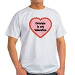 Gramps is My Valentine Light T-Shirt