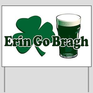 Erin Go Bragh v8 Yard Sign