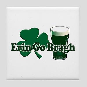 Erin Go Bragh v8 Tile Coaster