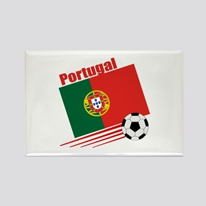 Portugal Soccer Team Rectangle Magnet (10 pack)
