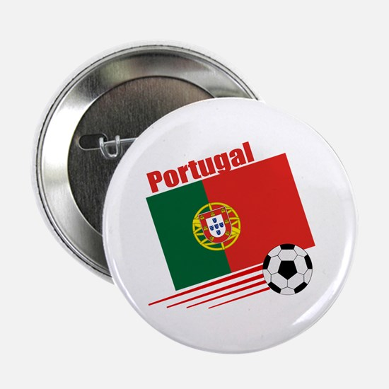 """Portugal Soccer Team 2.25"""" Button (10 pack)"""