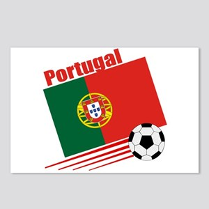 Portugal Soccer Team Postcards (Package of 8)