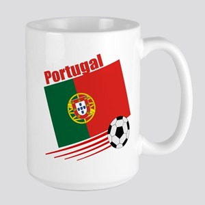 Portugal Soccer Team Large Mug