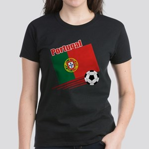 Portugal Soccer Team Women's Dark T-Shirt