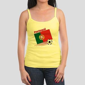 Portugal Soccer Team Jr. Spaghetti Tank
