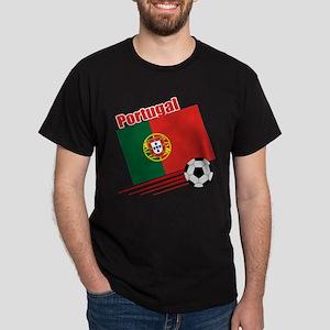 Portugal Soccer Team Dark T-Shirt