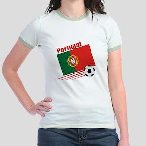 Portugal Soccer Team Jr. Ringer T-Shirt