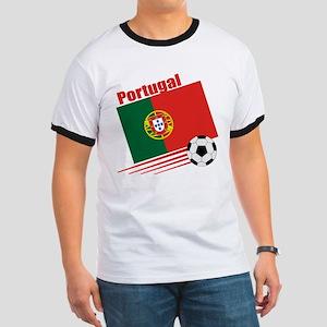 Portugal Soccer Team Ringer T