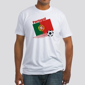 Portugal Soccer Team Fitted T-Shirt