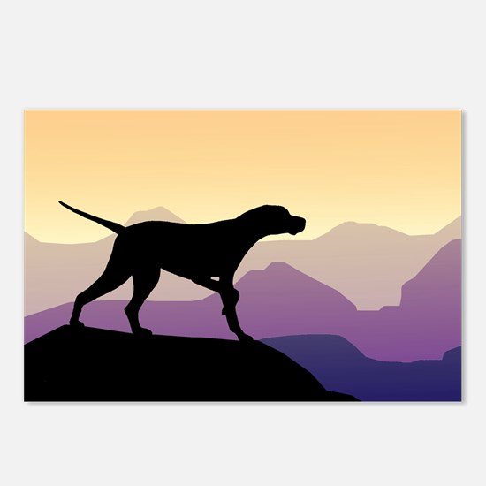 Purple Mountains Pointer Postcards (Package of 8)