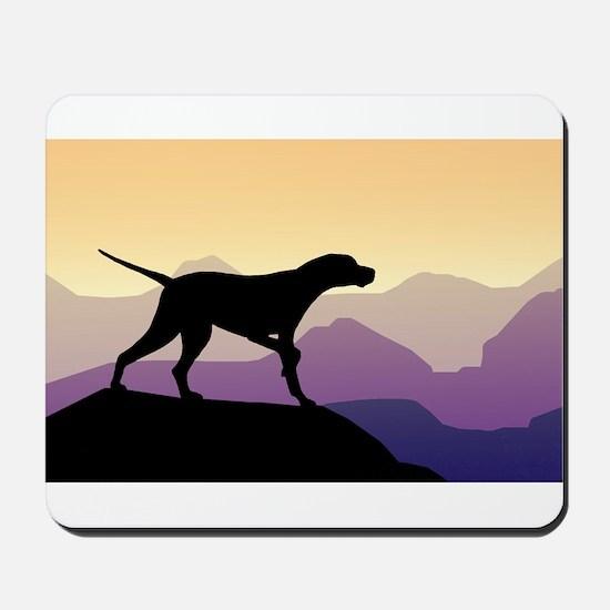 Purple Mountains Pointer Mousepad