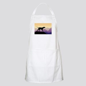 Purple Mountains Pointer Apron