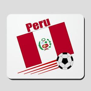 Peru Soccer Team Mousepad