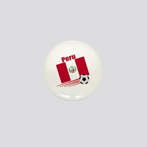 Peru Soccer Team Mini Button (100 pack)