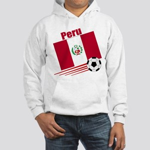 Peru Soccer Team Hooded Sweatshirt