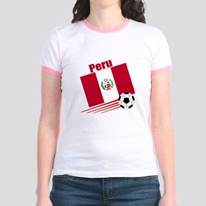 Peru Soccer Team Jr. Ringer T-Shirt