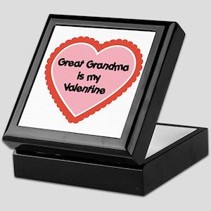 Great Grandma is My Valentine Keepsake Box