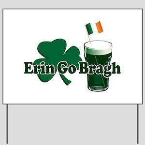 Erin Go Bragh v9 Yard Sign