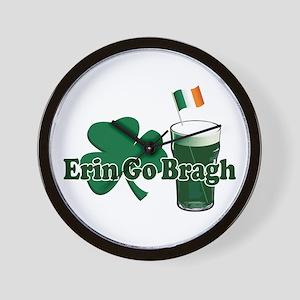 Erin Go Bragh v9 Wall Clock