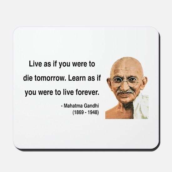 Gandhi 2 Mousepad