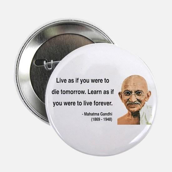 """Gandhi 2 2.25"""" Button"""