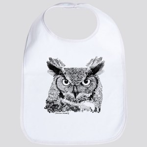 Horned Owl Bib