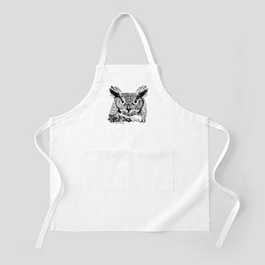 Horned Owl BBQ Apron