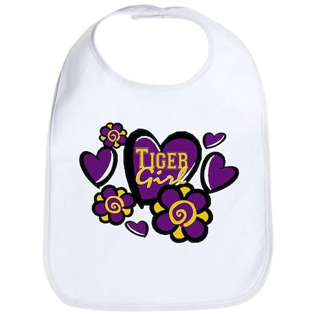 Tiger Girls Bib