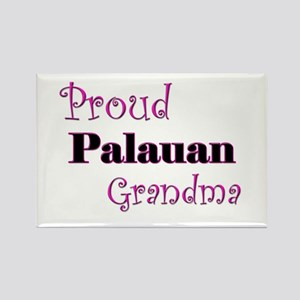 Proud Palauan Grandma Rectangle Magnet