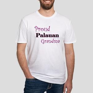Proud Palauan Grandma Fitted T-Shirt