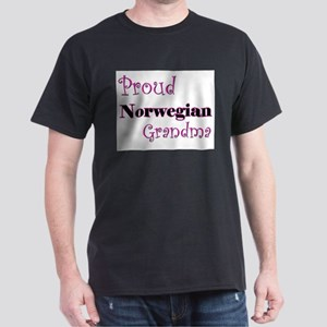 Proud Norwegian Grandma Dark T-Shirt