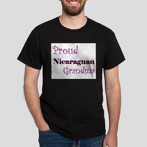 Proud Nicaraguan Grandma Dark T-Shirt