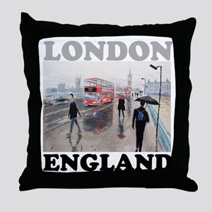 England gift Throw Pillow