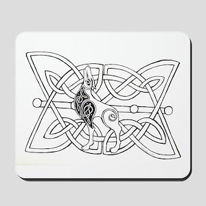 Celtic dog Mousepad