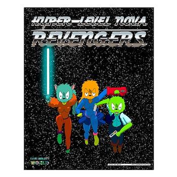 Hyper-Level Nova Revengers Poster