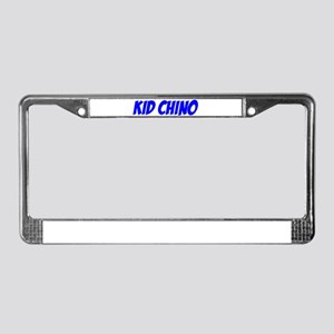 """Kid Chino"" License Plate Frame"