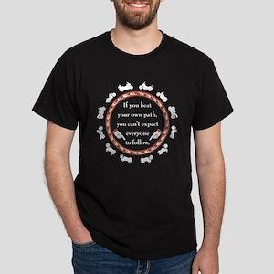 Beat Your Own Path Dark T-Shirt