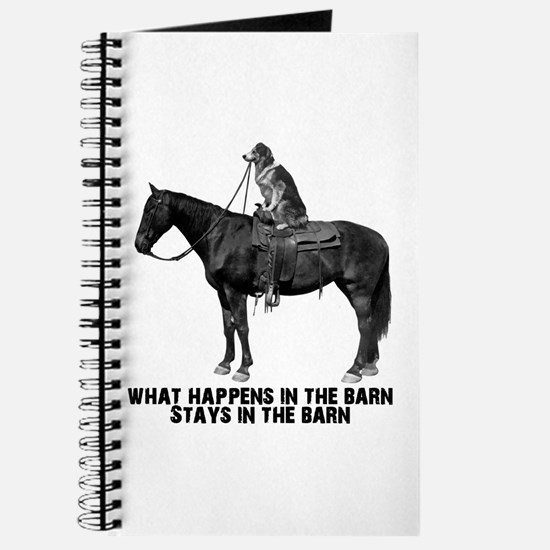 What happens in the barn Journal