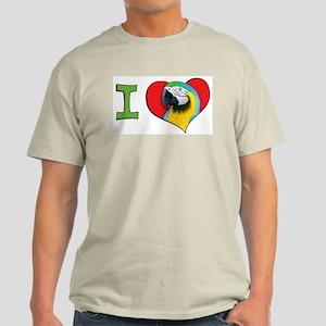 I heart macaws Light T-Shirt