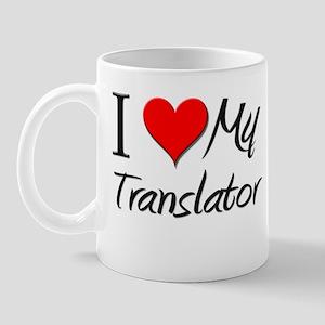 I Heart My Translator Mug