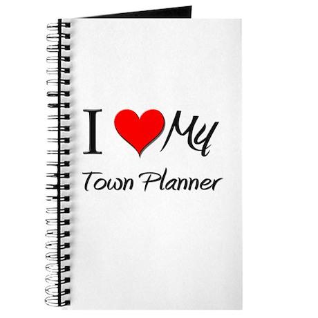 I Heart My Town Planner Journal