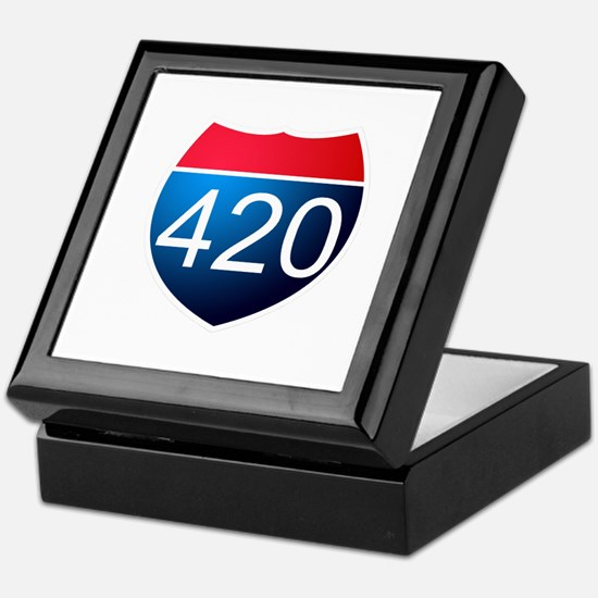 Cute 420 Keepsake Box