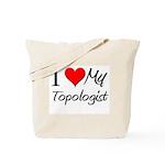 I Heart My Topologist Tote Bag