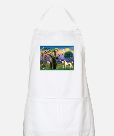 St Francis & Whippets BBQ Apron